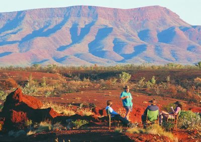 Hamersley Range in Karijini National Park
